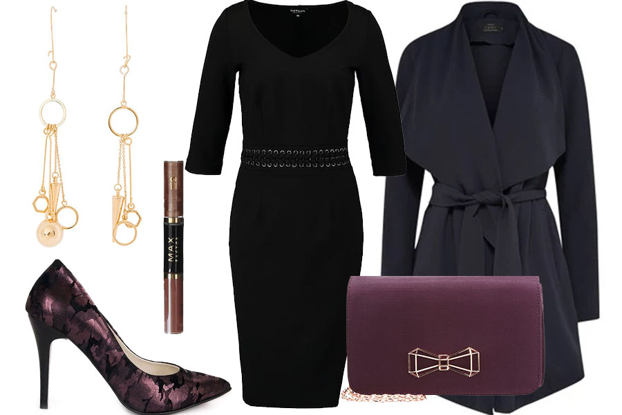 Elegancka czerń