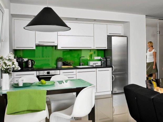 Kolory ścian do białych mebli kuchennych  zdjęcie nr 5 -> Kolor Kuchni Do Bialych Mebli