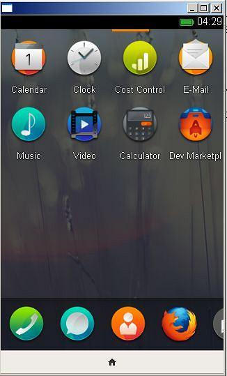 Lista aplikacji w Firefox OS