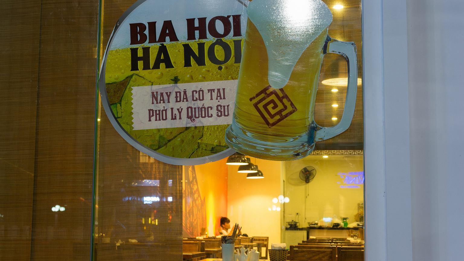 Bia Hoi to jeden z najpopularniejszych napojów w Hanoi