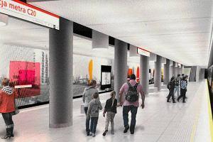 Grafiki Młodożeńca były integralną częścią stacji II linii metra. Artysta: Jestem zawiedziony, że odłożyli ten projekt na półkę