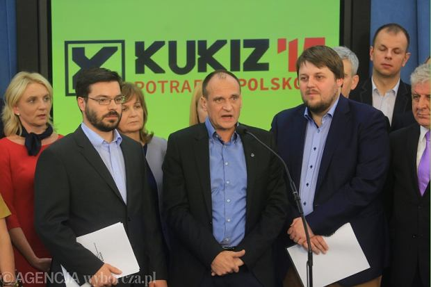 Cz�onkowie klubu Kukiz'15