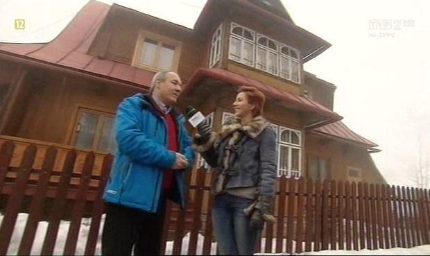 Bronis�aw Stoch, dom Kamila Stocha, Z�b