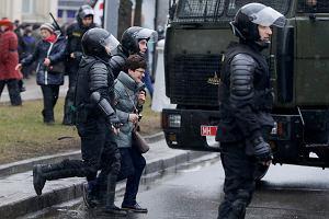 Na Białorusi lud się burzy, władza Łukaszenki aresztowała kilkaset osób