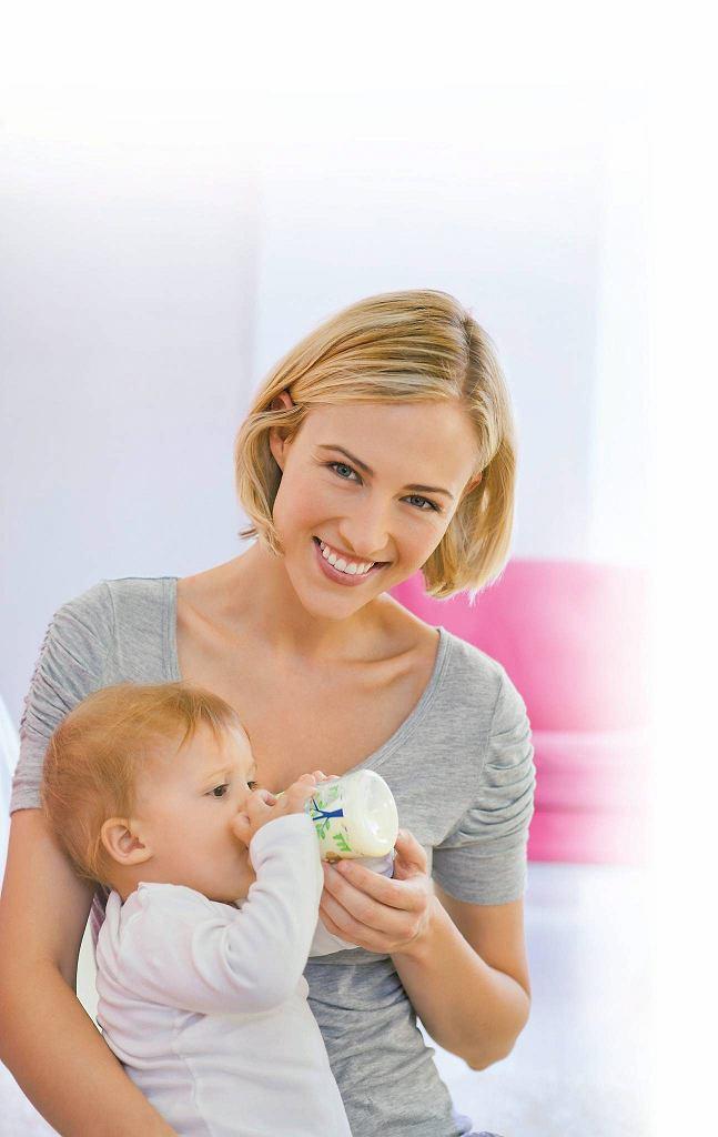 Mleko typu R syci głód na dłużej, ale nie jest bardziej kaloryczne od zwykłej mieszanki modyfikowanej.