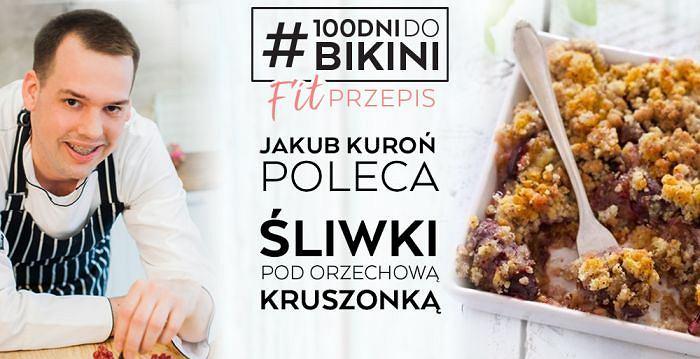 Jakub Kuroń poleca: Śliwki pod orzechową kruszonką