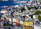 Alesund, Norwegia. Fiordy. / fot. Shutterstock
