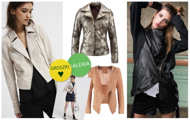 Przegl�d: sk�rzane kurtki na jesie� ze sklep�w internetowych
