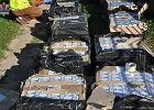 Chełm. 67-latka trzymała w garażu 23 tys. paczek papierosów bez akcyzy. Policja wkroczyła do akcji