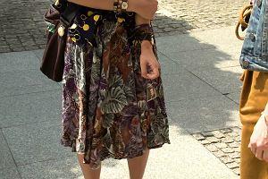 """STREET FASHION: """"Ze starych rzeczy robię coś nowego"""". Zobacz, jakimi sposobami, Justyna nadaje ubraniom charakter"""