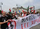 Ruch Narodowy chce zająć miejsca członków PiS w Senacie. 2 tys. narodowców przeszło w antyrządowym marszu