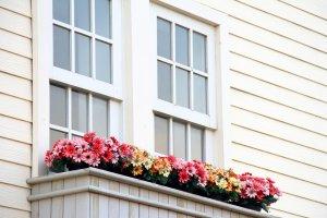Wiosenna aranżacja balkonu