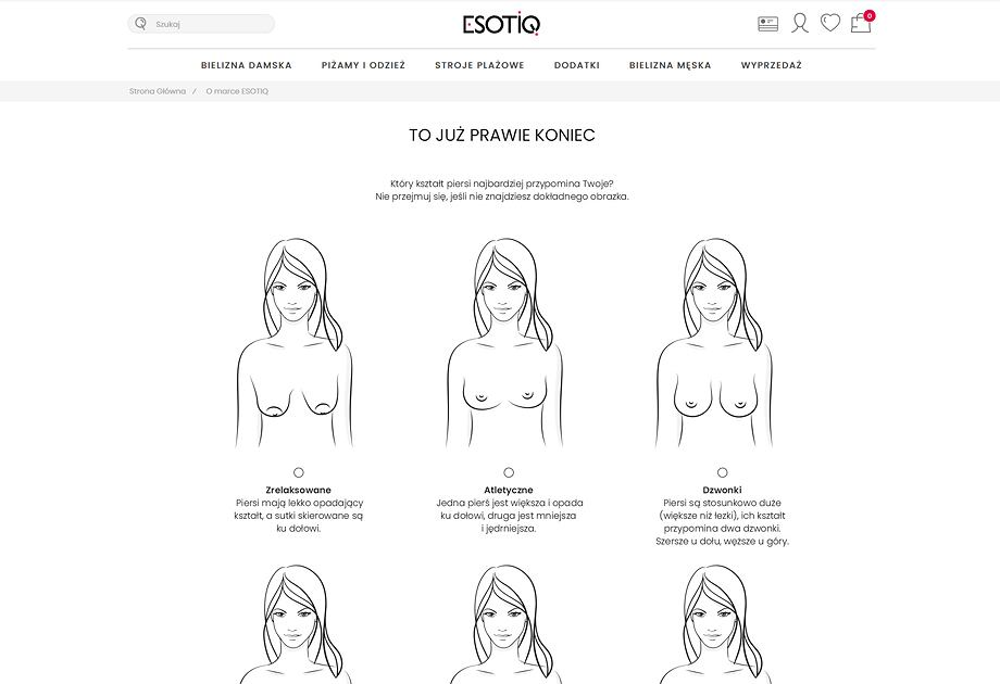 Aplikacja brafittingowa Esotiq