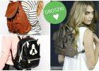 Plecaki - najmodniejsze modele z jesiennych kolekcji