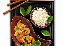 Tajskie curry z krewetek - ugotuj