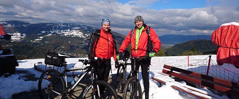 290 km w śniegu, deszczu i błocie, czyli październikowa wyprawa rowerowa od źródeł Wisły do stolicy Królów Polski