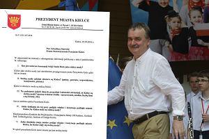 Prezydent Kielc z poparciem PiS pokaza�, jak NIE traktowa� mieszka�c�w. Przesadzi�?
