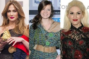 Jennifer Lopez, Gwen Stefani, Anna Powierza: One mia�y operacj� nosa! Jak wygl�da�y wcze�niej?