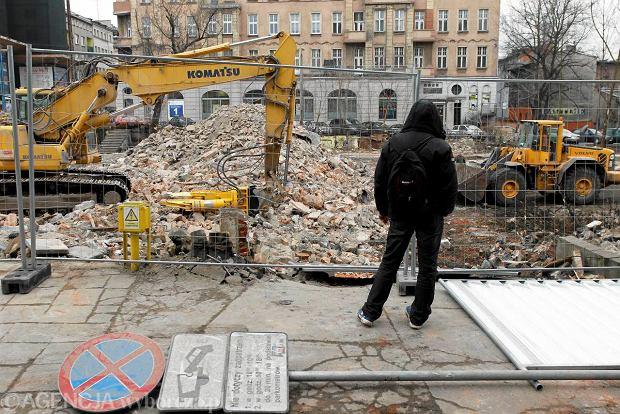 Wyburzenia pod Drogową Trasę Średnicową w Gliwicach