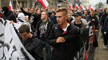 Demonstracja antyimigrancka, 12 IX 2015 r.