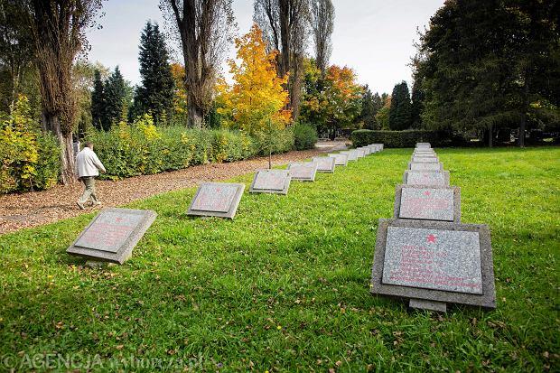 Kwatera �olnierzy Armii Czerwonej na Cmentarzu Rakowickim
