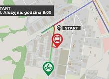 Start o 8:00, na miejscu byliśmy 9:20. Rower, auto i komunikacja miejska. Zobacz nasz test