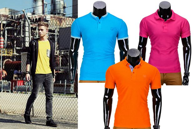 Kolorowe t-shirty