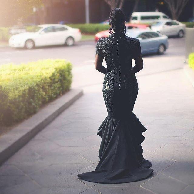 42a71f882c Czarna suknia ślubna  Ta panna młoda nie chciała ograniczać się tradycjami