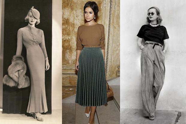 """Z cyklu """"Historia mody w pigułce"""": lata 30."""