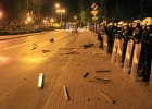 Zamieszki w Knurowie. Policyjni zwi�zkowcy oskar�aj�: pa�stwo nie radzi sobie z kibolami