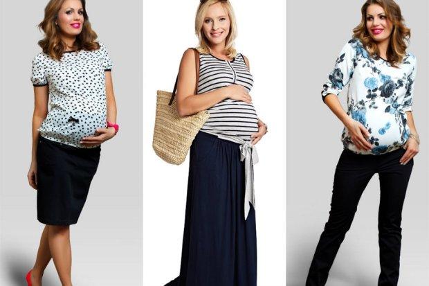2b0c36f7ab Modne ubrania dla kobiet w ostatnim miesiącu ciąży