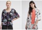 Kwiatowy przegląd ubrań i akcesoriów