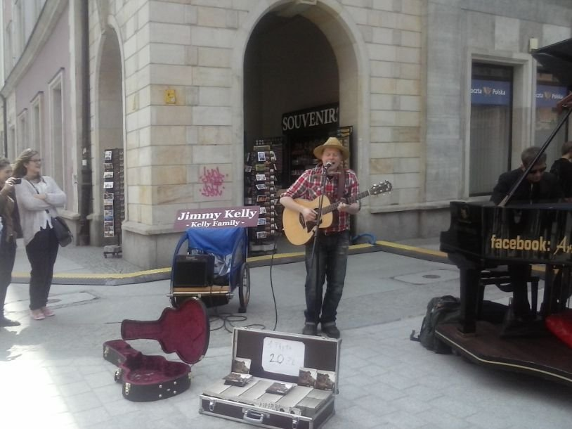 Jimmy Kelly we Wrocławiu