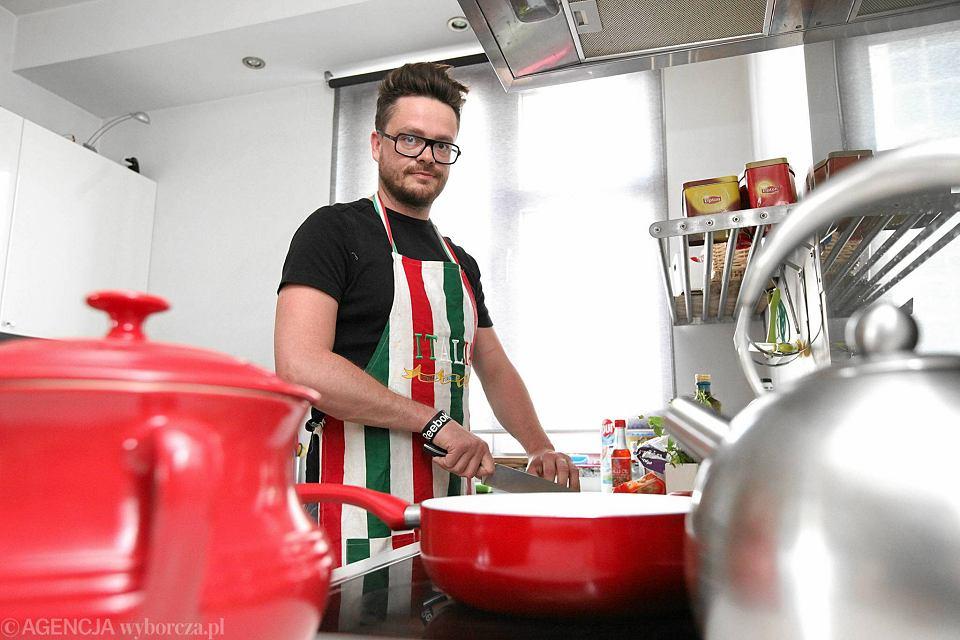 Niezwyk�e wyzwanie kulinarne Micha�a Falkiewicza