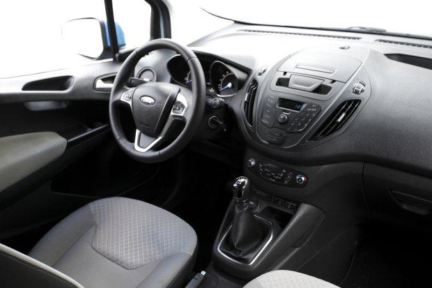 Ford Tourneo Courier 1.6 TDCi Titanium | Test d�ugodystansowy cz. IV | Wn�trze