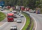 Zderzenie ciężarówek, autostrada A4 zablokowana. Wielki korek!