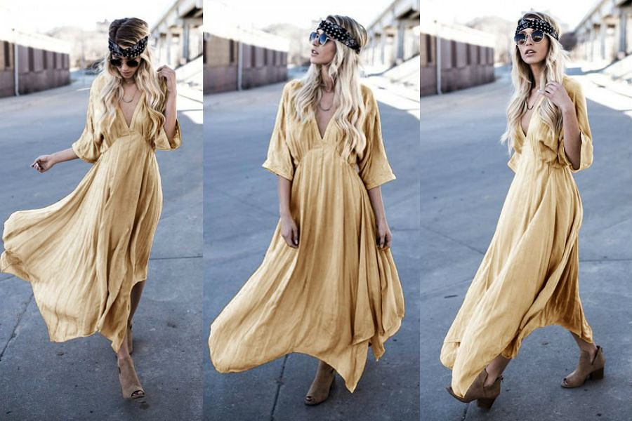 257df744708d Zwiewna sukienka - modele na co dzień i ważne okazje