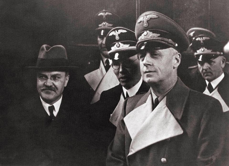 Mołotow i Ribbentrop