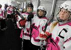 Hokeistki na lodzie z Poznania: Niby dlaczego dziewczyny mają być grzeczne i zawsze w różowym?