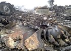 Miejsce katastrofy samolotu