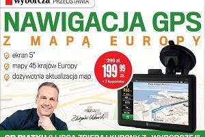 """GPS Navitel z mapą Europy w wyjątkowej cenie za kupony z """"Wyborczej"""""""