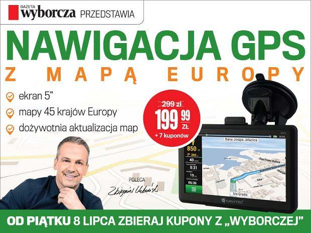 """GPS Navitel z map� Europy w wyj�tkowej cenie za kupony z """"Wyborczej"""""""