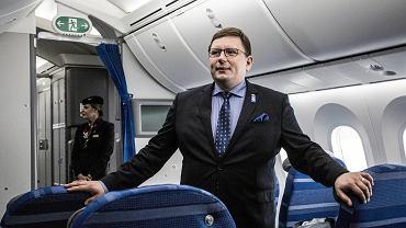Rafał Milczarski, prezes PLL LOT