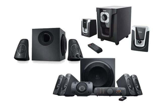 Głośniki komputerowe do filmów i muzyki