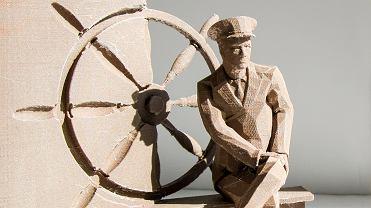 Projekt pomnika kapitana Konstantego Maciejewicza