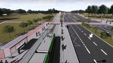 Tramwaj na Naramowice - wizualizacje