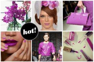 Radiant Orchid, czyli kolor 2014 roku wg Pantone. Szukamy go w kosmetykach