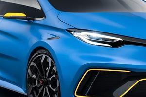 Salon Genewa 2017   Renault ZOE e-Sport   3,2 sekundy do setki