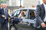 Volkswagen Golf Sportsvan Papieża Franciszka