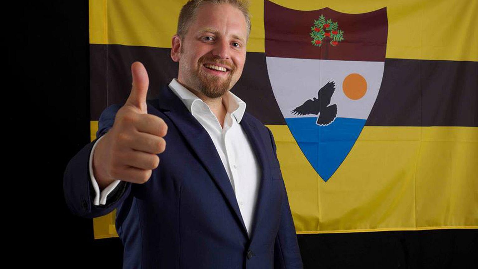 Prezydent Liberlandu - Vit Jedlicka